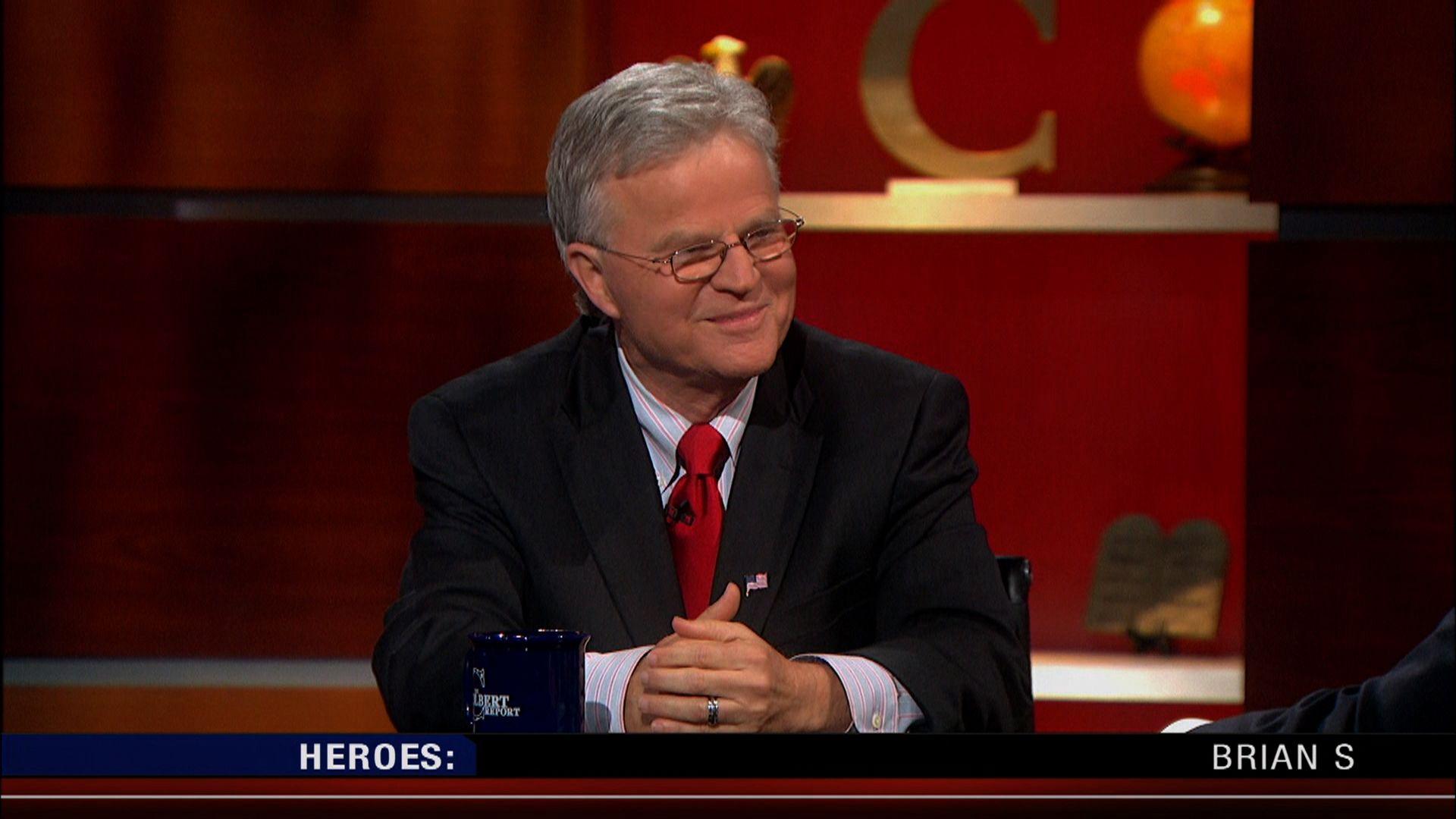 Colbert report heterosexual accountability buddy